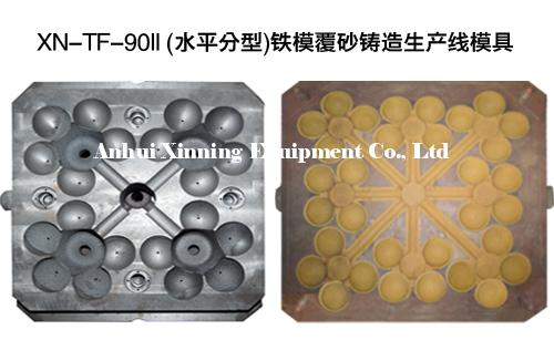 Horizontal Parting Iron Mould